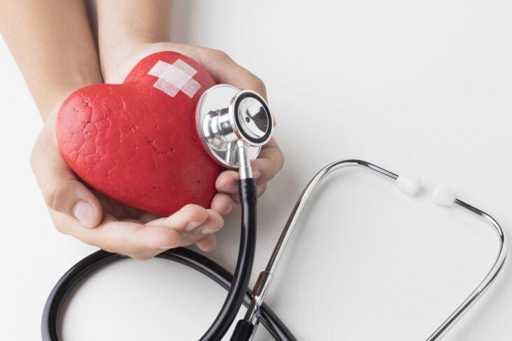 Ilustração sobre o cuidado ao coração